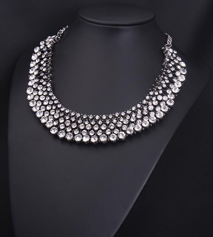 n09061 sparkle crystal women fashion jewelry designer inspired luxury