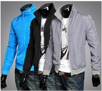 The fall of 2014 Men's long sleeve men's jacket is prevented bask in the jacket