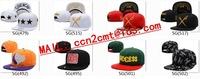 Free shipping wholesale cotton New arrival Supreme 5 Panel Camp Cap black Snapbacks hats