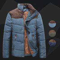 HOT New Arrival Winter Long Sleeve Jacket Men down vest coat men's fashion down-padded casual waistcoat