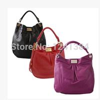 2013 new style Women mj Handbag Tote Bag Shoulder Bag Purse black red color bag