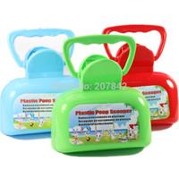 Convenient Dog Cat Pooper Scooper Portable Clean Up Tools Pet Supplies ( Color Randomly )