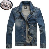 Export to Europe Good Quarlity !Men's Plus Size Denim Jacket Man Winter Autumn Jeans Coat  motorcycle jeans coats