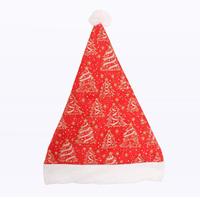 Christmas decoration christmas hats quality gold velvet bronzier 30g pattern Christmas tree