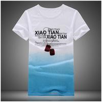 South Korean men's short-sleeved t-shirt men short sleeve cotton men T shirt tide brand men's Korean wholesale agents