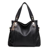 Women messenger bags leather handbags totes stylish bag shoulder bags Tassel Lady bags bolsas femininas couro PL374#84