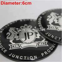 Free shipping 4pcs/lot car styling DAD JP Car rim cover JP emblem wheel cover  round car decoration sticker