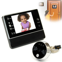 3.5 LCD Digital Video Doorbell Door Viewer  eye Camera Peephole Home Security 3X Zoom Can Record Video and take photos Camcorder