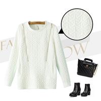 New 2014 Fashion Autumn Women Hoodies, Sweatshirts Zipper O-Neck Long Sleeve Coat Casual Sportswear Vogue Brand Outwear Feminine