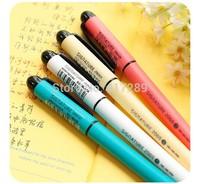 8Pcs/lot Kawaii Cute Pen stationery Gel Pen candy color Creative School Supplies Gift Pen Free Shipping