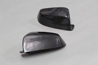 for BMW 5 Series GT F07 car rearview side mirror cover cap CFRP real carbon fiber reinforced polymer