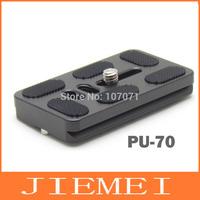 Tripod Monopods PU-70 Quick Release Plate For Benro B0 B1 B2 J1 N1 Tripod ball head Arca Swiss
