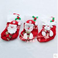 Christmas Sock Snowman Claus Gift Socks Christmas Tree Ornaments