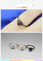 Order $16 automatically free shipping .copper rings , Diamond logo shape  Ring , high quality , Fashion jewelry nickel free