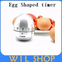 Hot sales Fashion Stainless Steel Egg Timer Household Reminder  You Kitchen Need It