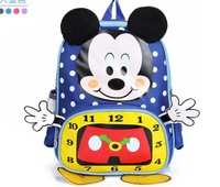 HOT!  Cartoon character dotted Backpack Preppy Chic boys' and girls' School Bag sports bag Travel Bag free shipping