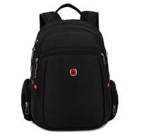 High quality Men 's Fashion Business Brand Swiss Gear Laptop Backpacks Men' s travel Backpacks School Bag