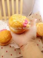 2014 new novelty rare jumbo RARE japan hellokitty quishy charm cream puff soft rising 9cm with tag phone pendant freeshipping