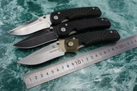 DC-A4 Sunstreaker pattern Folding knife 8Cr15Mov stonewash Blade G10 handle camping/EDC/hunting knife gift box