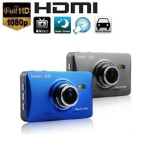 Dash cam Metal full HD night vision lens car dvr 1080p rearview black box key camera record video recorder dvrs mini camcorders(China (Mainland))