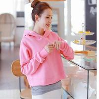 2014 New Autumn Fashion Thick Women Hoodies Set (hoodie,T-shirt) 2Pcs/Set High Quality Sport Suit Feminine Sweatshirt With Hood