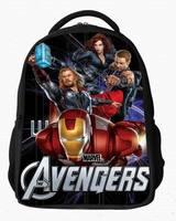The Avengers Anime Tactical Cartoon 3D Backpacks Girls Boys Kids students children School Bags travel kindergarten satchels pack