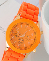 Spot Geneva Geneva silicone watch Korean fashion watches female popular explosion woman student table