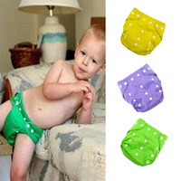 12PCS/Dozen net surface inside breathable baby nappy changing cloth diaper adjustable size high quality
