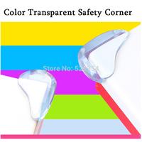 Color Transparent Safety Corner  Baby Safety Corner 8 pcs/set 5 color options Protective sleeve Glass Coffee Corner
