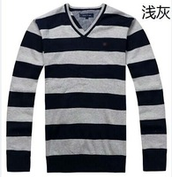 free shipping 4 color  New  Men V neck sweaters fashion pullovers sweater Knitwear style sweater  Jumper
