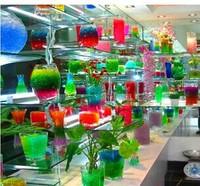 1000bag/lot 5g/bag, Crystal Magic Mud Soil Water Beads Flower plant For Wedding Wholesale Freeship