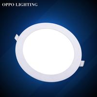 Free shipping 6pcs round LED Panel Light 3W AC 96-265V 85mm 270lumen smd 2835 led ceiling light down light warm white/cool white