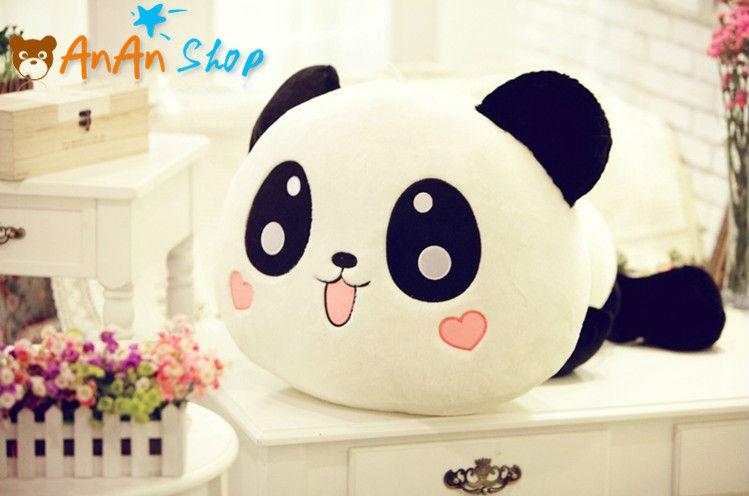 New Stuffed Animal Doll 21'' 55cm Plush Cute Panda Teddy Bear High Quality Soft Toy Girlfriend Kids Birthday Christmas Gift(China (Mainland))