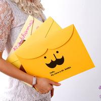 A4 Document Bag Filing Products File Folder Paper Bag Cute Creative Stationery Folder Korea School Supplies Stationery Kawaii