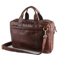 FREE SHIPPINGThe new upscale atmosphere import cowhide business men hand bag / shoulder diagonal bag men messenger bags