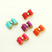 Armi store Handmade Accessories Pet Simple And Lovely Solid Color Ribbon Bow #a21006 Dog Show Supplies Wholesale