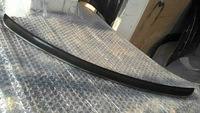 fit for Mercedes Benz W203 rear spoiler wing trunk lip CFRP real carbon fiber reinforced polymer AMG type