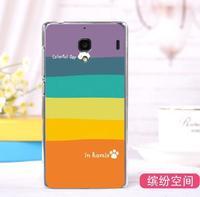 redmi 1s case ,Top quality plastic painted cartoon case for xiaomi redmi hongmi hard cover + gift