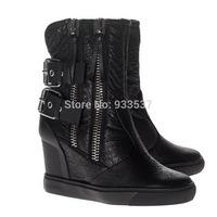 2014 HOT! Women Sneakers, women's Genuine Leather boots! size EU 35-42