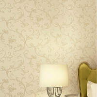 Europea style Non-woven wall paper vintage Acanthus Leaf sofa background wall wallpapers 10 meters papel de parede roll
