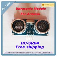 Free shipping 20pcs/lot  Ultrasonic Module HC-SR04 Distance Measuring Transducer Sensor  for Arduino  HCSR04