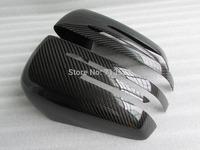 for Mercedes Benz A B C E S CLS GLK CLASS  car rearview side mirror cover cap CFRP real carbon fiber reinforced polymer