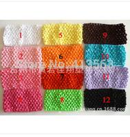 1pcs New Arrival 7cm X 13cm Baby Girl Crochet Tutu Tube Tops Chest Wrap Wide Crochet Headbands Wholesale Free Shipping