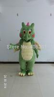 top sale durable green dinosaur mascot costumes
