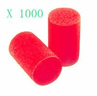 1000 X PCS  North Safety Uncorded Decidamp Cylinder Foam Earplugs