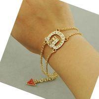 Mini.Order.$5.Can Mix items.H703. 2014 fashion jewelry bijoux,beautiful brand bracelet.chamr letter bracelets Bangles