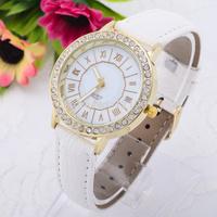 Fashion Casual Lady Watches Full Diamond Imitation Wristwatches Women Dress Relogio Quartz Clock