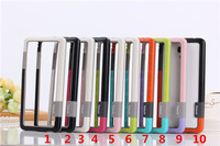 High quality 2014 New Arrival Light soft Bumper Case Frame Cover for Xiaomi 4 Miui M4 Mi4   Free Shipping &wholesale
