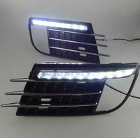 High quality! 2013-14 Volkswagen Tiguan daytime running light 100% waterproof daytime running light LED car fog lights