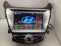 Two Din 8INCH HYUNDAI elantra 2014 dvd player 3g/wifi ipod gps sd usb mp3/4 FM/AM BT TV 4gb map Free Shipping